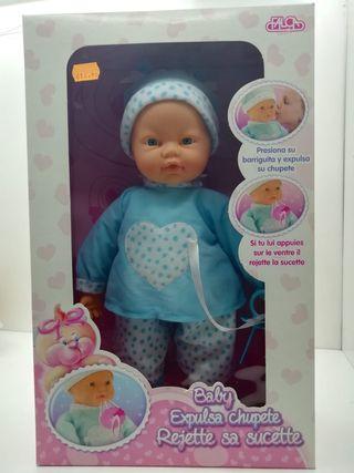 baby expulsa chupete