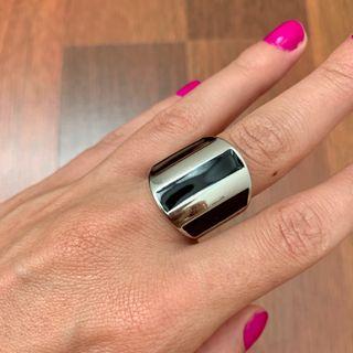 Pulsera y anillo acero inoxidable