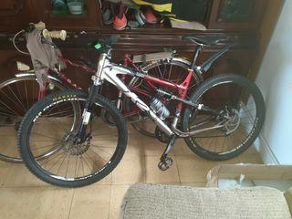 bicicleta doble suspensión competicion