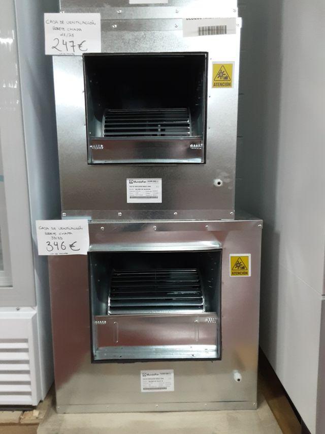 Cajas de ventilación.