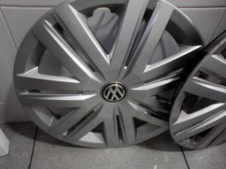 4 tapacubos Volkswagen Polo de llanta 14