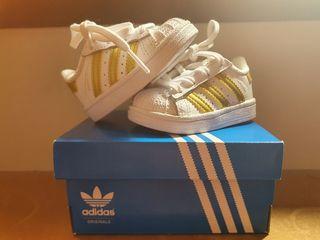 lote zapatillas adidas superstar + IKKS+ Jordan