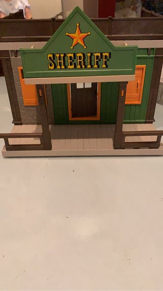 Playmobil casa de sheriff