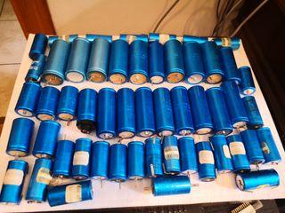 lote condensadores vintage