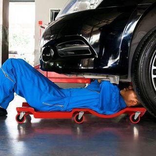Camilla para Taller con ruedas Plataforma para Tra