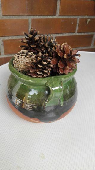 Vasija de barro pintado