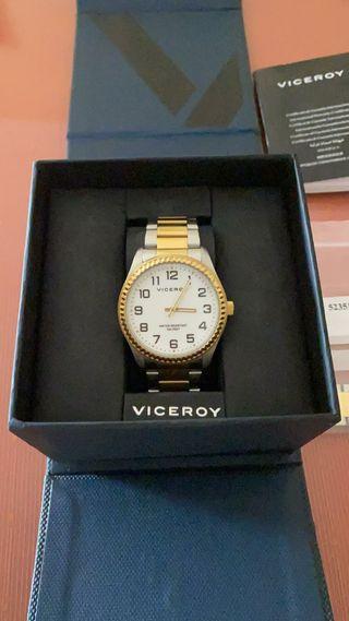 Reloj Viceroy inoxidable.