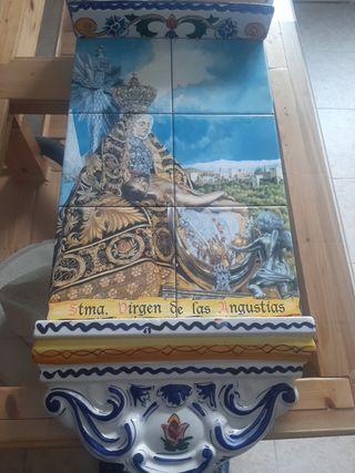 Cuadro de Azulejos Virgen de las Angustias