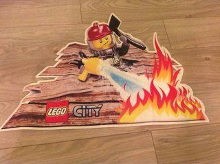 Decoración Vinilo Adhesivo Lego City