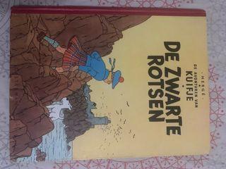 La isla Negra Tintin Herge