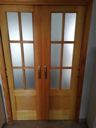 Puertas de madera de pino