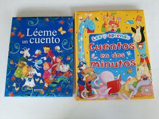 2 libros cuentos infantiles