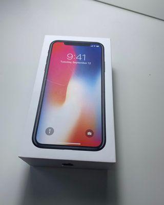 Iphone X NUEVO FACTURA APPLE GARANTIA 08/2022