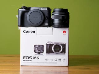 Canon M6 + 15-45