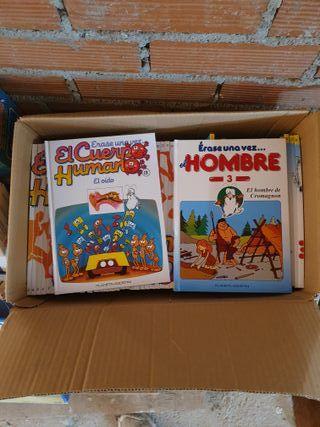 libros infantiles cuerpo humano y evolucion