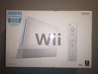 Wii con 3 mandos y juegos