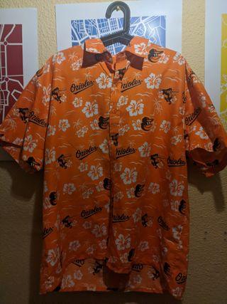 Camiseta Orioles estilo Hawaii