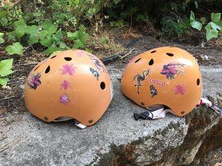 Cascos de niña para patinaje/bicicleta