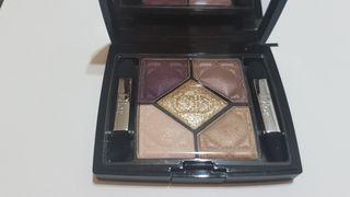 Quad de sombras de Dior. edición limitada