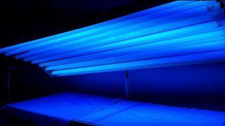 Lámpara rayos UVA