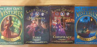 Pack 4 libros The Lady Grace Mysteries (en inglés)