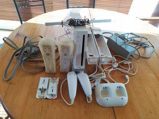Consola Wii y complementos