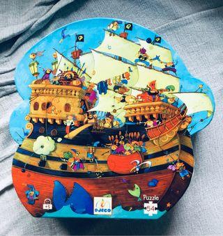 Puzzle de piratas