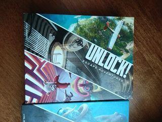 unlock, escape adventures juego de mesa