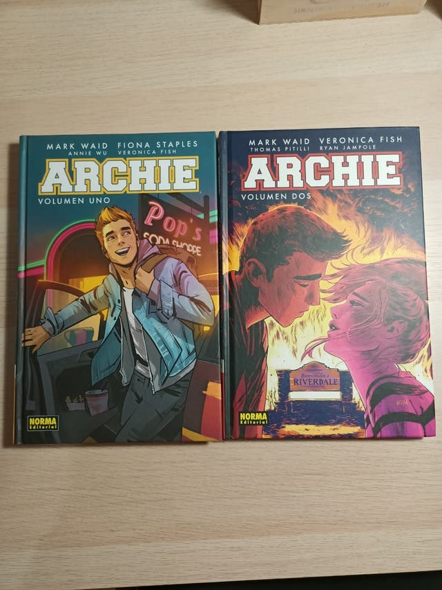 Dos comics de archie