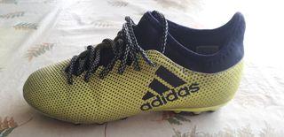 Botas futbol Adidas T37y1/2