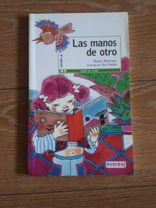 """LIBRO PARA NIÑOS Y JÓVENES """"LAS MANOS DE OTRO"""""""