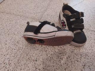 Zapatillas de ruedas heelys