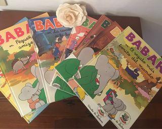 Colección 7 libros de historias de BABAR años 90