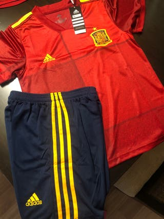 Equipaje futbol España niño sin estrenar