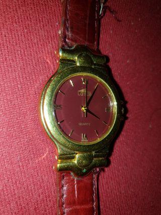 Reloj de mujer Lotus de oro con correa 9619 / 1.