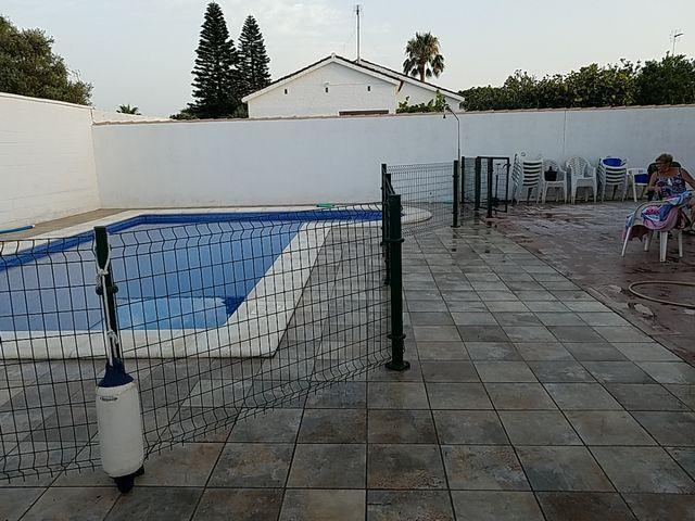 valla de piscina