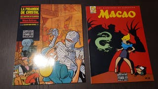Comics - Lote albumes - Mique Beltran -LA PIRAMIDE