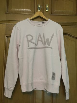 Sudadera G-Star Raw Rosa