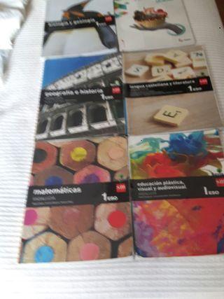 libros de texto. 1 ESO