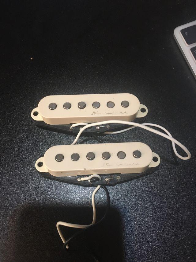 Fender hot noiseless pickups