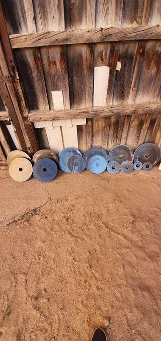 discos de gimnasio musculacion pesas