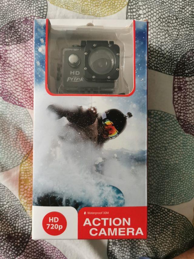 cámara digital acción