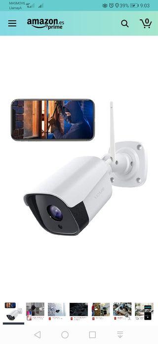 FHD 1080P Cámara IP externa, cámara de seguridad c