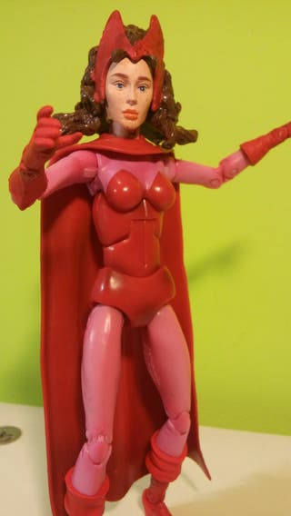 Bruja escarlata. Marvel Legends