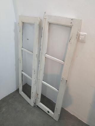 ventanas madera blancas
