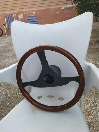volante de caoba