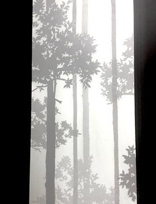 Papel pintado motivo bosque