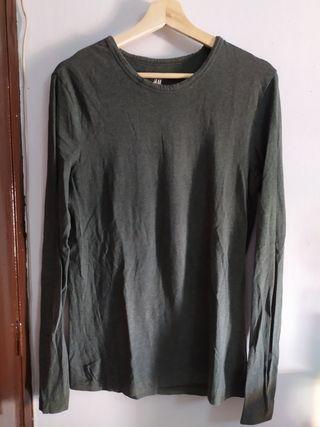 camiseta Mangas largas hombre M
