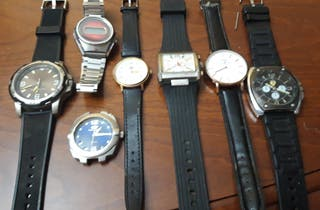 Lote de relojes (Time Force, Orient...)