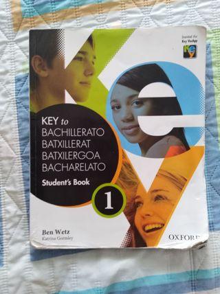 Key to bachillerato 1/Libro de ingles 1º bachiller